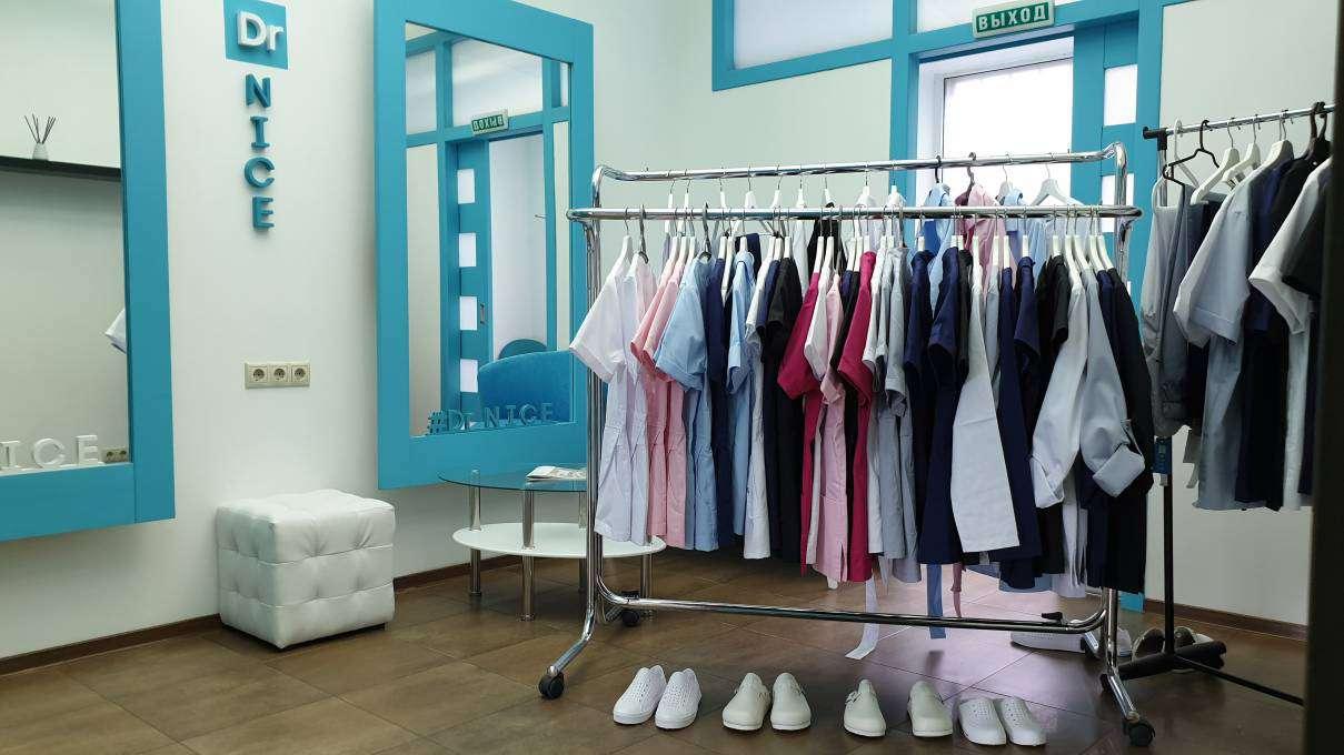 Открылся магазин и шоу-рум  медицинской одежды Dr.NICE